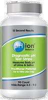 Bell pH ion balance (diagnostic pH test strips), 90 strips | NutriFarm.ca