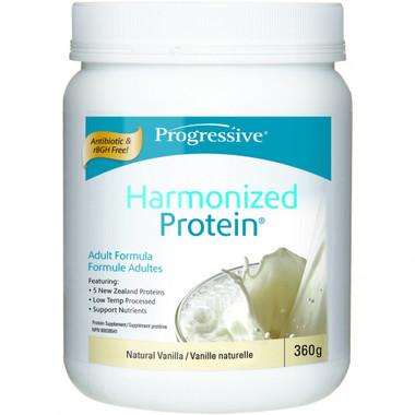 Progressive Harmonized Protein Natural Vanilla, 360 g   NutriFarm.ca