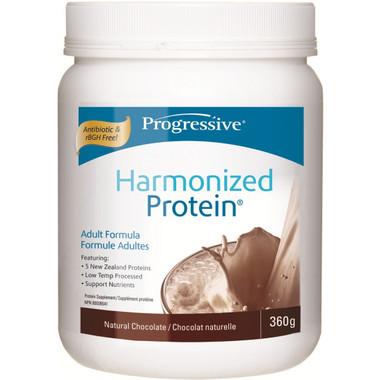 Progressive Harmonized Protein Natural Chocolate, 360 g | NutriFarm.ca