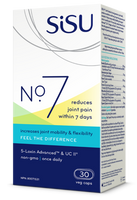 SISU No 7, 30 Vegetable Capsules | NutriFarm.ca