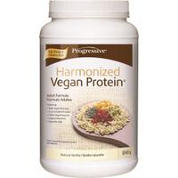 Progressive Harmonized Vegan Protein Natural Vanilla, 840 g | NutriFarm.ca