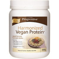 Progressive Harmonized Vegan Protein Natural Vanilla, 350 g | NutriFarm.ca