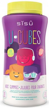SISU U-Cubes Multivitamin, 120 gummies   NutriFarm.ca