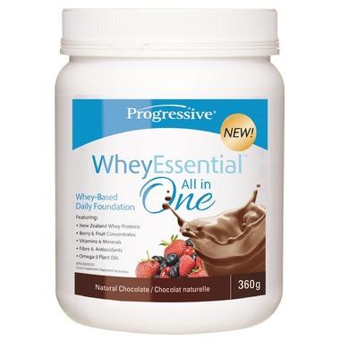 Progressive WheyEssential Natural Chocolate, 360 g   NutriFarm.ca