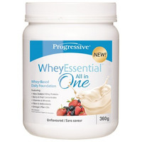 Progressive WheyEssential Unflavoured, 360 g | NutriFarm.ca