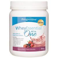 Progressive WheyEssential Natural Berry, 360 g | NutriFarm.ca
