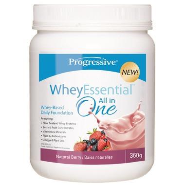 Progressive WheyEssential Natural Berry, 360 g   NutriFarm.ca