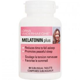 Lorna Vanderhaeghe Melatonin Plus, 60 Sublingual Tablets | NutriFarm.ca