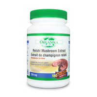 Organika Reishi Mushroom Extract 250mg, 180 Veg Caps