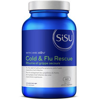 SISU Cold & Flu Rescue with Ester-C, 60 Vegetable Capsules | NutriFarm.ca