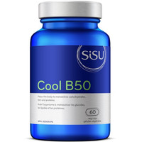 SISU Cool B50, 60 Vegetable Capsules | NutriFarm.ca