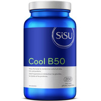 SISU Cool B50, 200 Vegetable Capsules | NutriFarm.ca