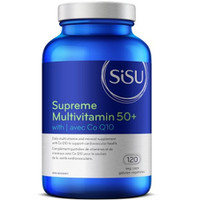 SISU Supreme Multivitamin 50+, 120 Vegetable Capsules | NutriFarm.ca