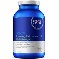 SISU Evening Primrose Oil 1000 mg, 180 Softgels | NutriFarm.ca