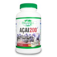 Organika ACAI 200 10mg, 180 Vegetable Capsules | NutriFarm.ca