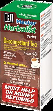 Bell Decongestant Tea, 30 bags   NutriFarm.ca