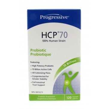 Progressive HCP70- Probiotic, 120 Capsules | NutriFarm.ca