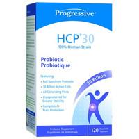 Progressive HCP30- Probiotic, 120 Capsules | NutriFarm.ca