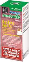 Bell Breathing Relief Tea, 30 bags | NutriFarm.ca