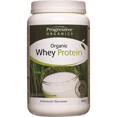Progressive Organic Whey Protein Unflavoured, 640 g | NutriFarm.ca