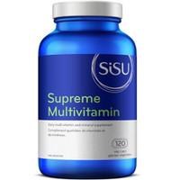 SISU Supreme Multivitamin with Iron, 120 Vegetable Capsules | NutriFarm.ca