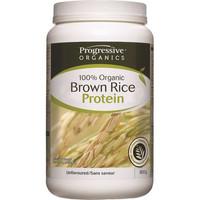 Progressive Organic Brown Rice Protein Unflavoured, 800 g | NutriFarm.ca