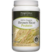 Progressive Organic Brown Rice Protein Natural Vanilla, 800 g | NutriFarm.ca
