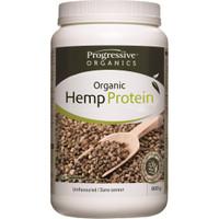 Progressive Organic Hemp Protein Unflavoured, 800 g | NutriFarm.ca