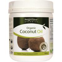 Progressive Organic Coconut Oil Unflavoured, 454 g | NutriFarm.ca