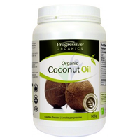 Progressive Organic Coconut Oil Unflavoured, 908 g | NutriFarm.ca