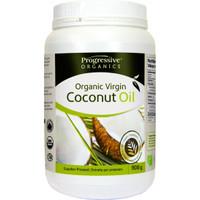 Progressive Organic Virgin Coconut Oil Unflavoured, 908 g | NutriFarm.ca