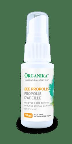 Organika Bee Propolis Throat Spray Alcohol Free, 30 ml