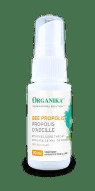 Organika Bee Propolis Throat Spray Alcohol Free, 30 ml | NutriFarm.ca