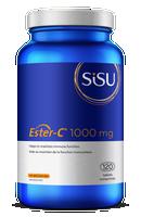 SISU Ester-C 1000, 120 Vegetable Capsules | NutriFarm.ca