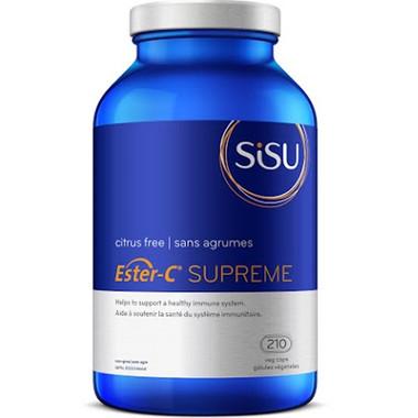 SISU Ester-C Supreme, 210 Vegetable Capsules | NutriFarm.ca