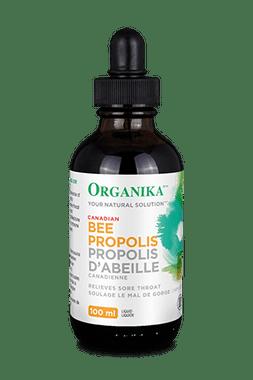 Organika Bee Propolis Liquid Alcohol Base, 100 ml | NutriFarm.ca