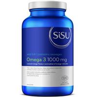 SISU Omega 3 1000 mg (Orange flavour), 120 Softgels   NutriFarm.ca