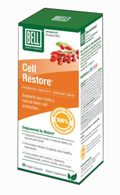 Bell Stem Cell Restore (Formerly Cell Activator), 60 Capsules | NutriFarm.ca