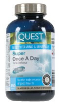 Quest Super Once A Day (Time Release), 90 Tablets | NutriFarm.ca