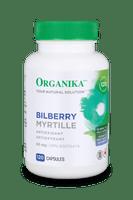 Organika Bilberry Extract,  120 Capsules | NutriFarm.ca