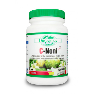Organika C-Noni, 180 Capsules | NutriFarm.ca