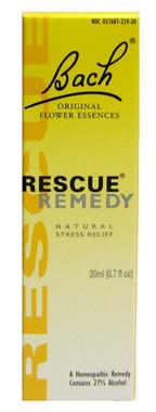 Bach Rescue Remedy Drops, 20 ml | NutriFarm.ca