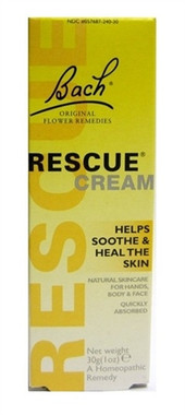 Bach Rescue Remedy Cream, 30 g | NutriFarm.ca