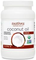 Nutiva Organic Coconut Oil, 444 ml | NutriFarm.ca
