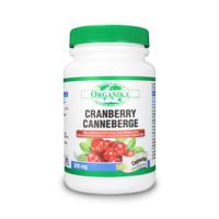 Organika Cranberry Extract 300 mg, 180 Capsules | NutriFarm.ca