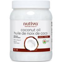 Nutiva Organic Coconut Oil, 1.6 L | NutriFarm.ca