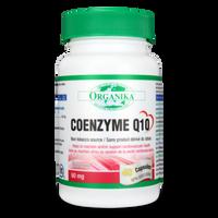Organika Coenzyme Q10 60mg, 40 Capsules | NutriFarm.ca