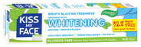Kiss My Face Whitening Gel Toothpaste, 127.6 g