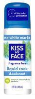 Kiss My Face Liquid Rock Deodorant - Fragrance Free, 90 ml