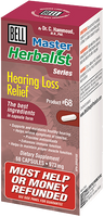Bell Hearing Loss Relief 973 mg, 60 Capsules | NutriFarm.ca